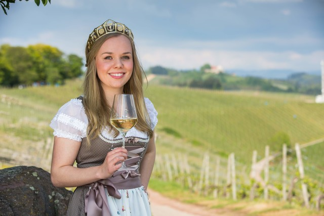 Weinprinzessin Hanna Danner